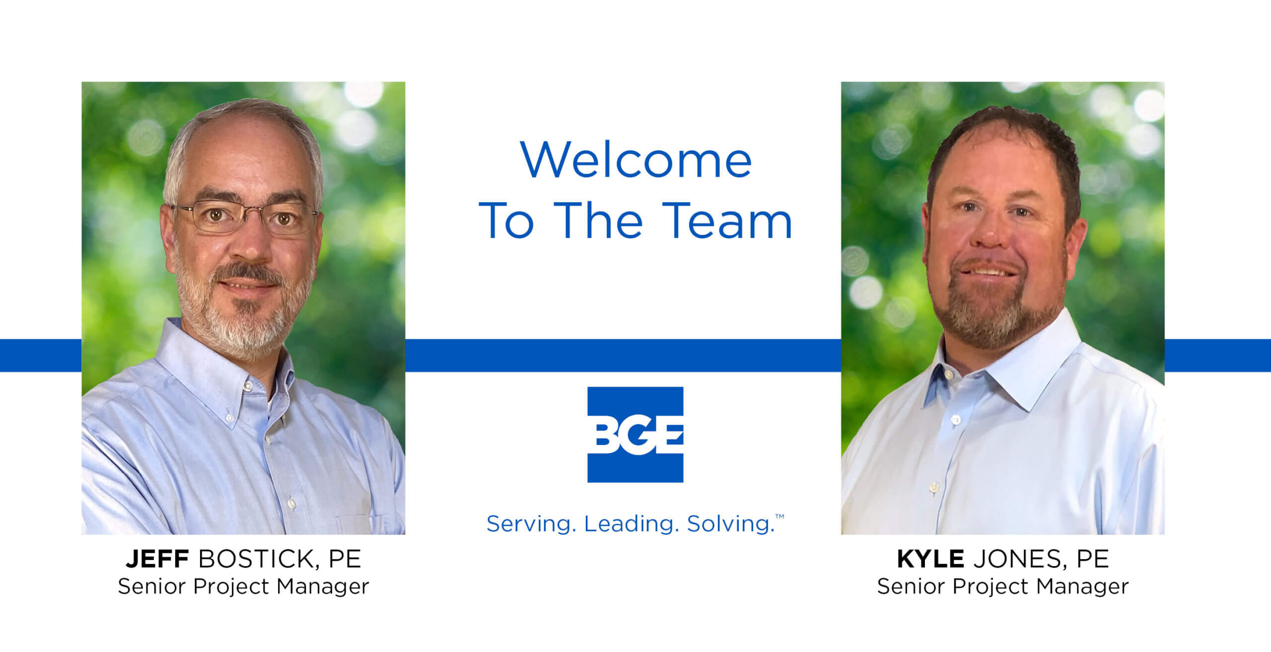 BGE Welcomes Bostick and Jones to the Houston  Region