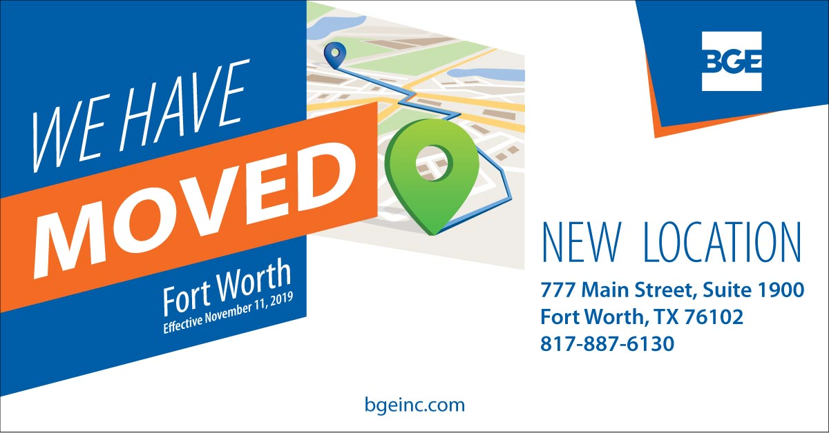 BGE's Fort Worth Office Relocates