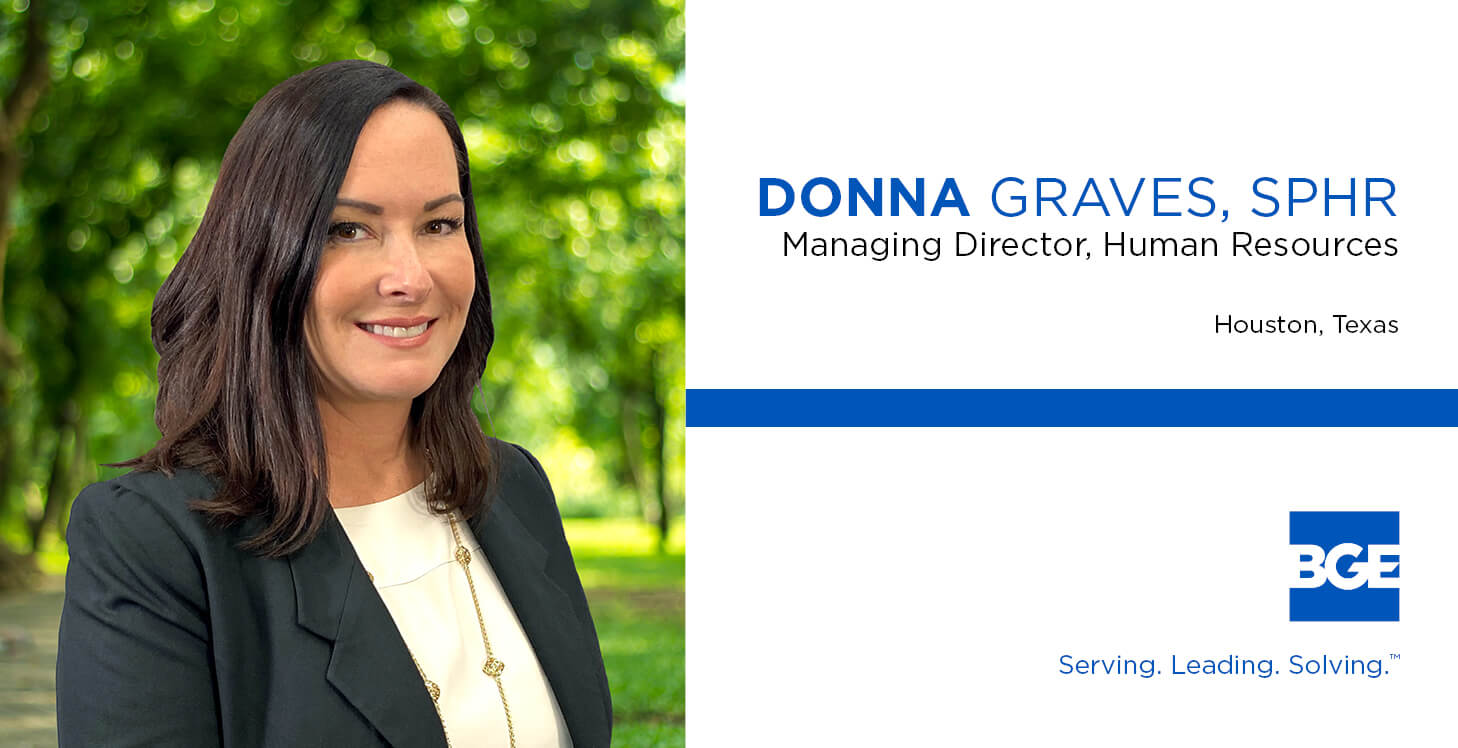 BGE Welcomes Donna Graves as Managing Director of Human Resources