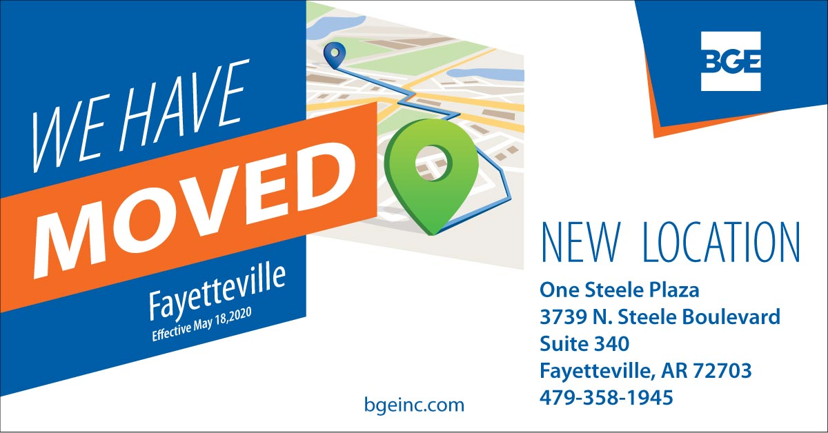 BGE's Fayetteville Office Relocates