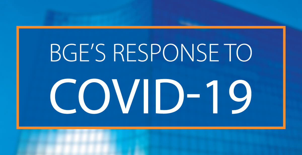 BGE's Response to COVID-19
