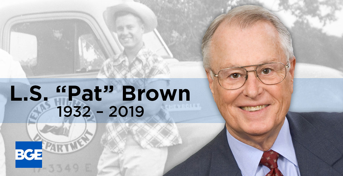 BGE Honors Company Founder Pat Brown